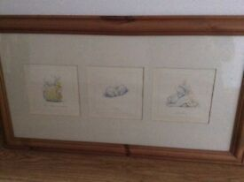 Two pine framed Humphreys Corner pictures