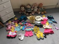 4 build a bears and loads of clothes