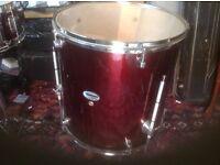 Mapex Tornado Drum Kit Burgundy colour for sale