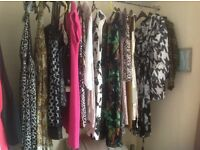 A number of ladies clothing items size 14