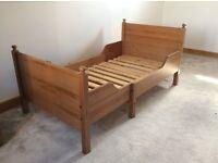 Ikea Leksvik extendable children's bed