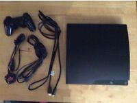 PS3 Console with wireless controller, 9 great games all with manuals and maps, HDMI CABLE