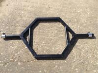 4.5FT Cheshire Strongman Supplies Shrug Bar with Clips (Delivery Available)