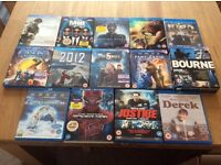 14 Blu-Ray films