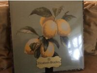 Brand new Lemons Botanical Fruit Elizabeth Bradley Tapestry Kit