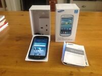 Unwanted Samsung GALAXY S III MINI smart phone for sale