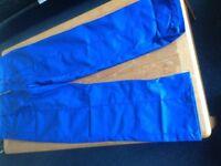 Men's work trousers brand new, blue, heavy duty, 38 waist