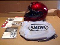 SHOEI Helmet (nearly new)