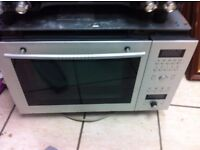 Neff microwave - oven silver HFT879 (2500w oven) for in cubbert