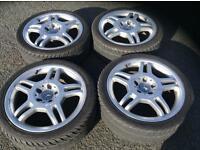 Mercedes AMG wheels & tyres