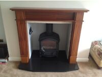 Fire Surround in Walnut