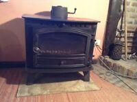 Wood burner / multifuel. Hunter Herald 14