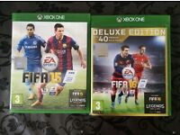 Fifa 16 Deluxe Edition & Fifa 15 Xbox One Games