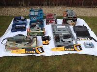Power Tools for Sale Various Manufacturers.