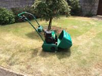 qualcast classic petrol 43s lawnmower