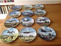 Royal Doulton - Heroes of the sky - limited edition plate collection