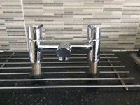 Bath tap mixer Chrome