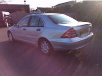Mercedes Benz C200 Kompressor 2002 Saloon (Include Private No Plate)