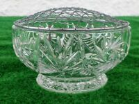 Brand New Crystal Rose Bowl