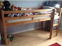 Kids bed cabin mid sleeper