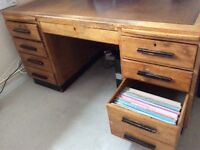 Large Executive Desk including Office Chair.
