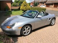 Porsche Boxster Convertible low mileage and mot till March 2018