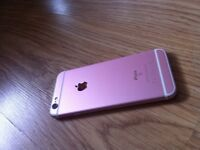 IPhone 6s Rose Gold In very good condition
