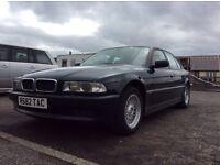 Classic 1998 BMW E38 740i 4.4 V8 290bhp May swap / Px