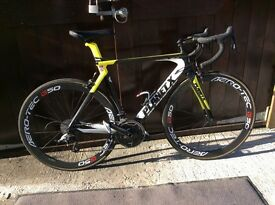 Planet X ultralight carbon frame road bike