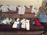 3-6 months boys 23 items in total