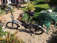 Two Apollo Transition fold up bicycles for sale. Good working order £45 each