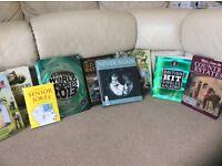 Selection of hardback books