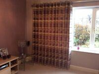 Beautiful Quality Curtains size 210 x 355 (each curtain) in Prestige fabric