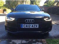 2012 Audi A4 S Line Black Edition