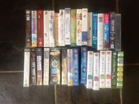 Large collection of VHS movies