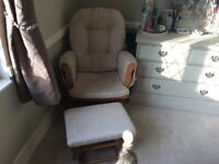 Selling a nearly new nursing chair from John Lewis in excellent condition