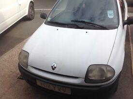 Renault Clio diesel van, spares or repairs
