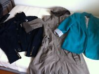 Job Lot Women's Teenage Clothing Ladies Clothes XS 8 Parka Coat Jeans Dress VeroModa H&M Monsoon