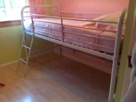 NEXT MID SLEEPER GIRLS BED FOR SALE