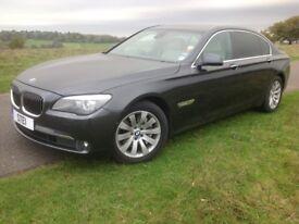 BMW 730Ld SE LWB 4DR Auto 2010 10 Reg Price £12000 Finance arranged Fully Loaded