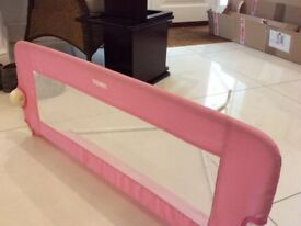 TOMY pink universal bed rail - £10