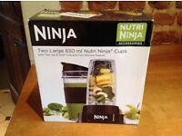 Nutri Ninja Cups 650ml