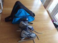 Reebok Ice Skates Kids Size 11 with Bag