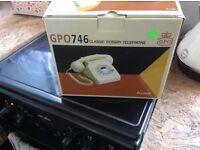 Gp0746 classic rotary telephone, Mint green