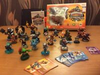 Nintendo Wii Skylanders Giants starter pack plus figures
