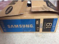 Samsung 19 inch led TVs new boxed never used