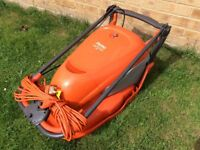 FLYMO HOVER COMPACT ELECTRIC LAWNMOWER / LAWN MOWER