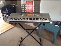 Yamaha keyboard - Portatone PSR E313 YPT-310 keyboard with stand