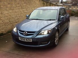 2009 Mazda 3 mps aero in blue 77k