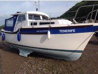 Tamar enterprise 2000 motor cruiser